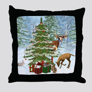 citf_shower_curtain Throw Pillow